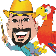 Avatar for Kid's Magician Captain Kid  w/Trained Parrot