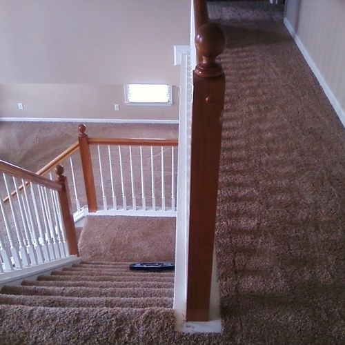 Overview of carpet installation from Pride-N-Mine Flooring.