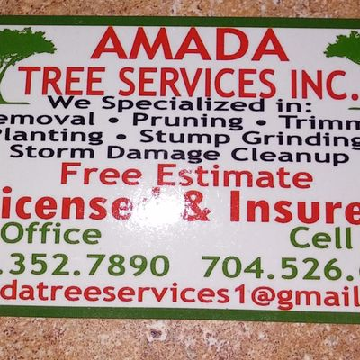 Avatar for Amada tree services inc Charlotte, NC Thumbtack