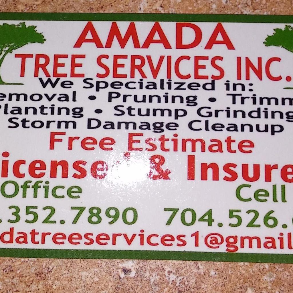 Amada tree services inc