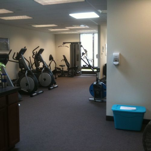 Cardiovascular and resistance equipment.