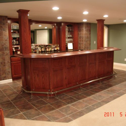 Custom bars and furniture take your project to a new level.