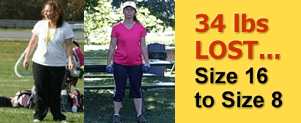 Deana S. of Beekman, NY lost 34 pounds!