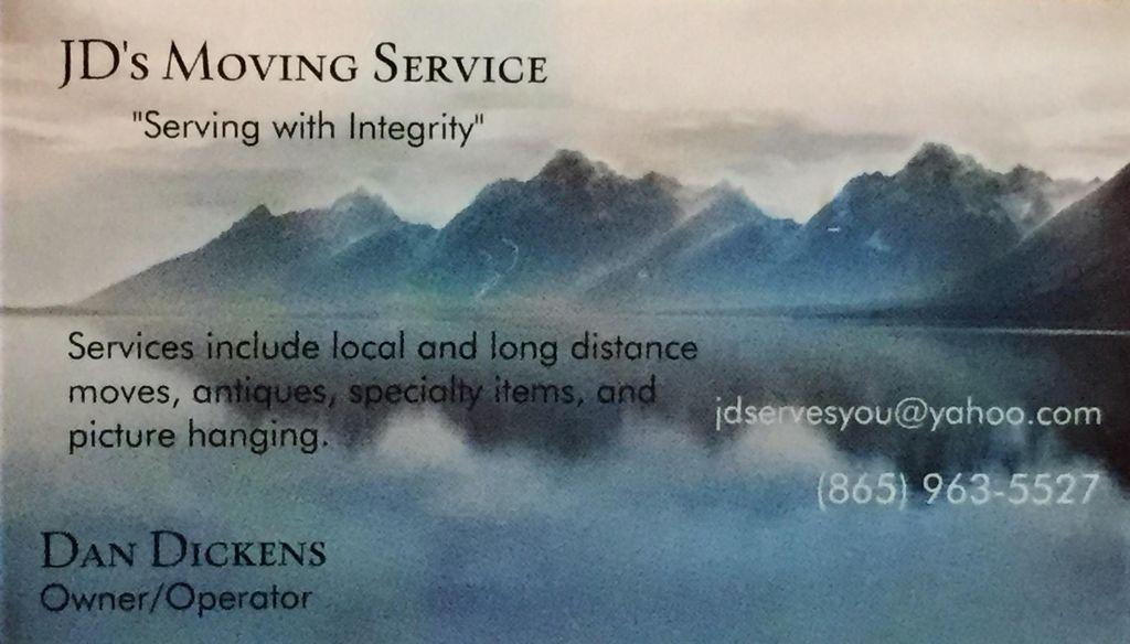 JD's Moving Service