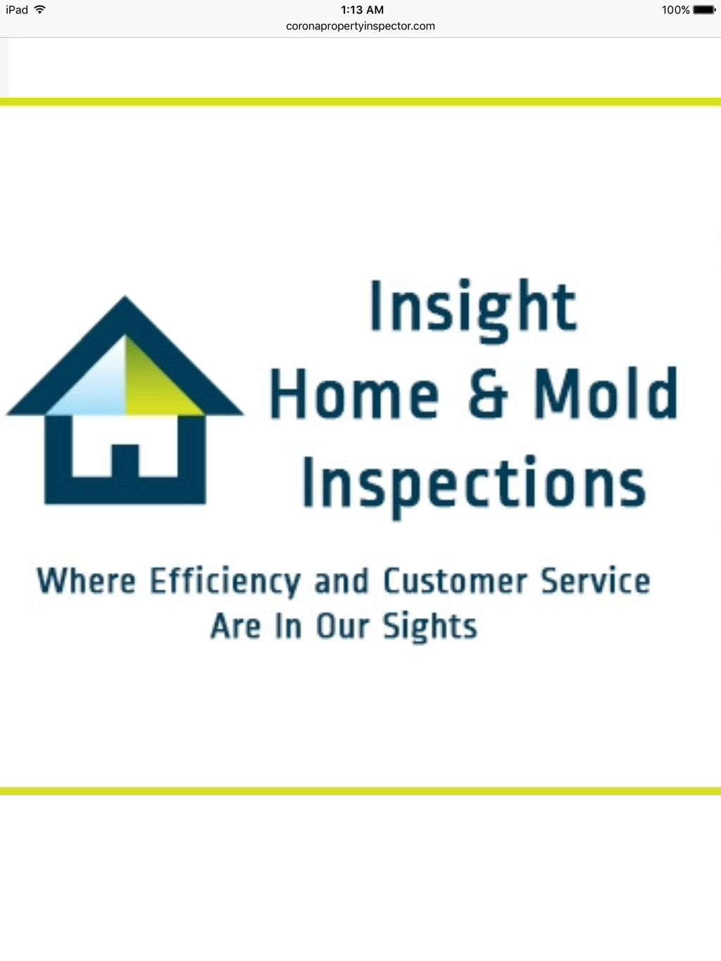 Insight Home and Mold Inspections