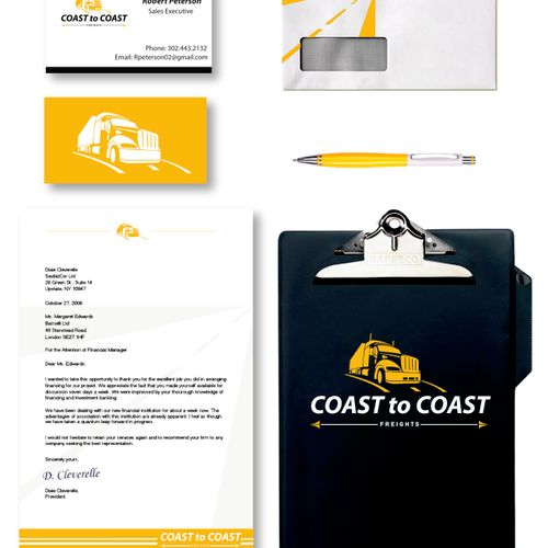 Distribution Company Stationary