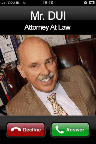 Call Mr. DUI for DUI matters.