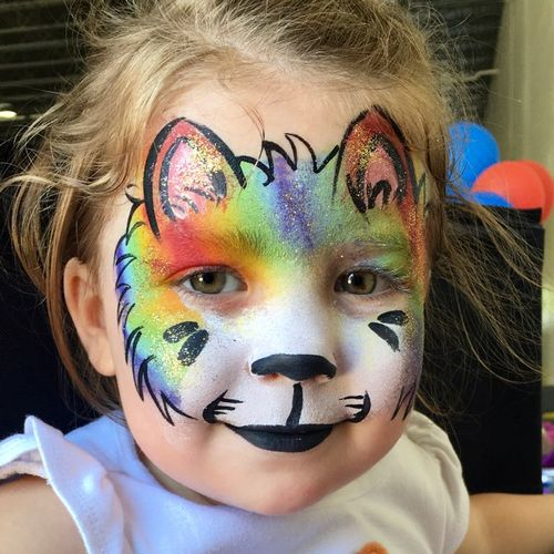 adorable face painting