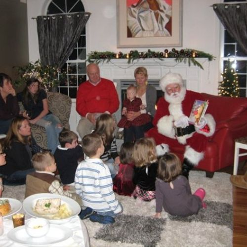 Santa (and all our characters) is happy to read stories, lead sing alongs, do a little magic and give everyone a special time.