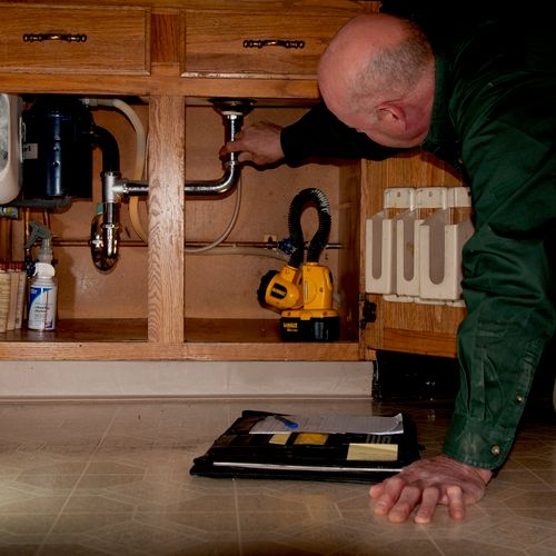 Plumbing inspection (an area people like to avoid)