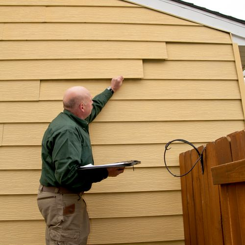 Siding issues and what to look for.....