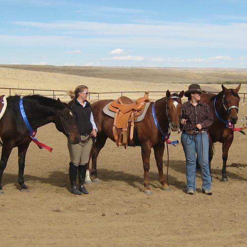 2011 Platte Ridge Equestrian Saddle Series Horse Show Winners