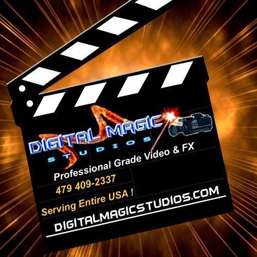 Digital Magic Studios is Professional Grade Video & FX!