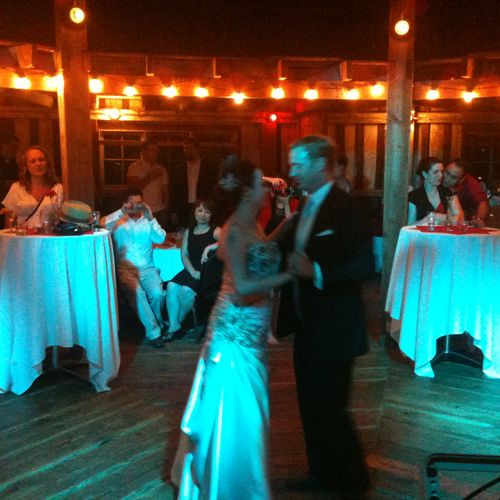 A first dance at a McMenamin's