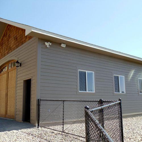 We made a custom garage/ shop in spring 2011