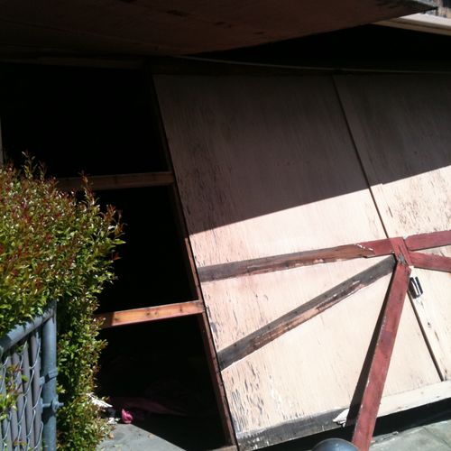 Some of the harder projects 1A Advanced Garage Doors sometimes run into.