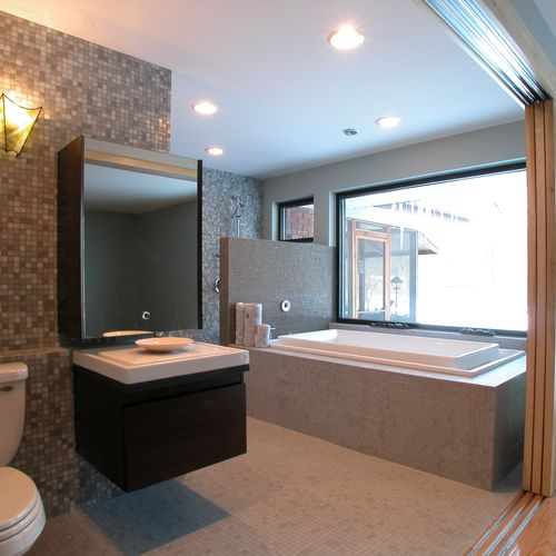 Modern Bath, HGTV New Spaces