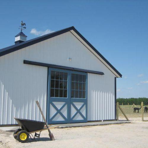 Alpaca & Horse Barns