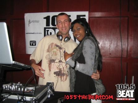 Me and First lady Nikki of 105.5 the beat at The Dish in Marco Island