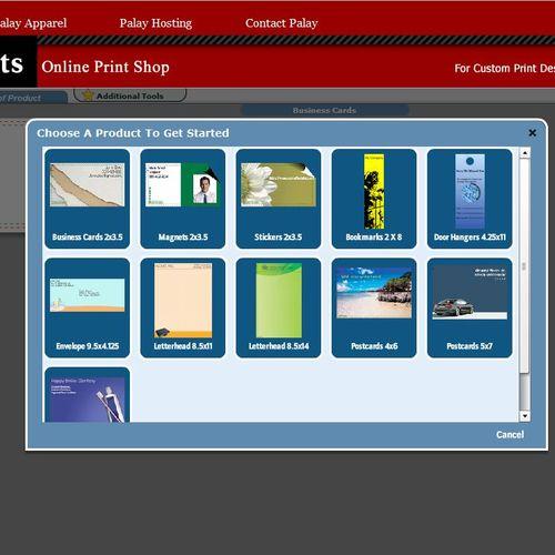 Online Print Shop for your convenience!
