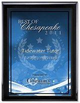 "Awarded ""Best of Chesapeake 2011 -- 2017 Tutoring Instructors"""