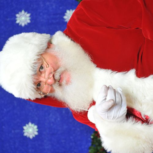 Santa Claus -- He's the real thing.