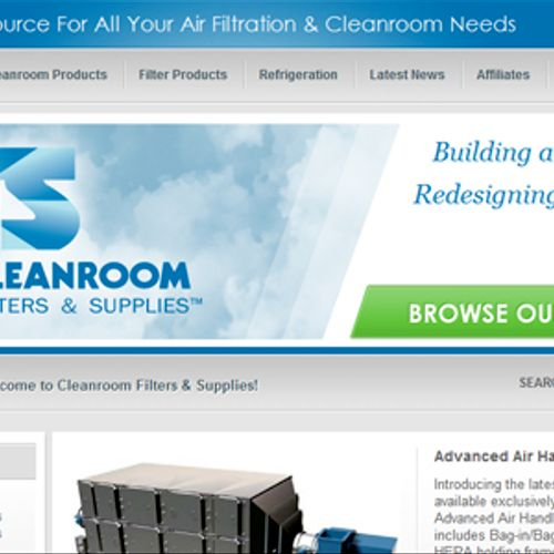 Cleanroom Filters & Supplies
