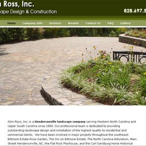 A complete redesign of a very old site for JohnRossInc.com that no longer functioned in current browsers. We redesigned it from the ground up and placed it in a content management system so the owner could maintain it.