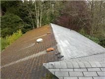 Moss Removal and treatment have the moss removed.  Power wash/surface clean your roof. Before and after.