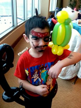 Phancy Face Painting and Balloon Art Plus!