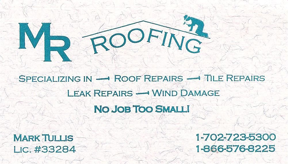 M R ROOFING
