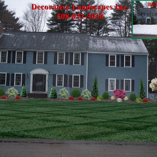 "Residential "" True to Life"" Landscape Renovation Design"