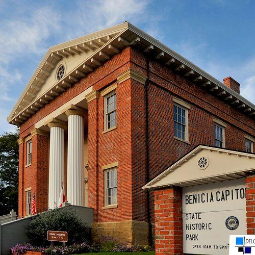 Benicia's historic state capitol building