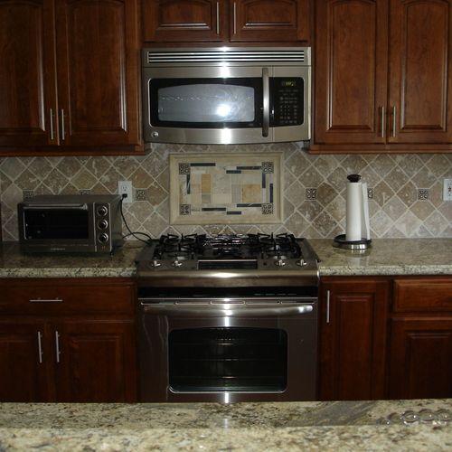 Appliance Installation and Custom tile work