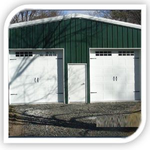 We service garage doors in northern New Jersey.