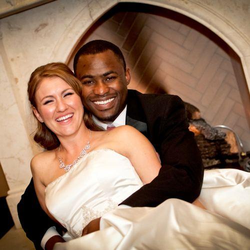 Glowing bride & groom in Santa Clarita, CA