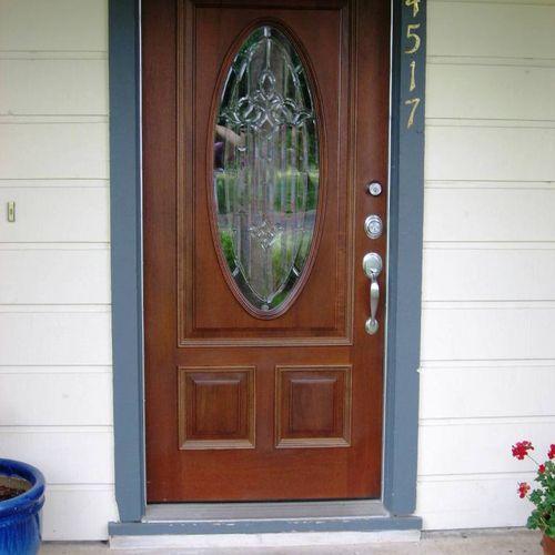 Residential Door Repairs, Upgrades, and Replacment