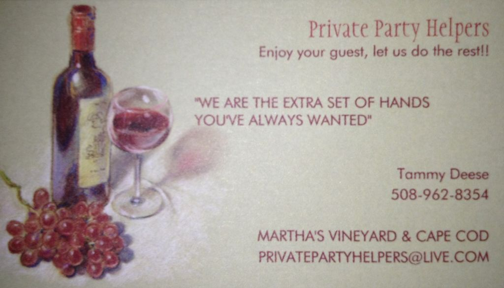 Private Party Helpers