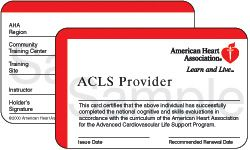 American Heart Association ACLS Classes in Berkeley and Oakland