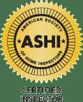 ASHI Certified Inspector http/www.ashi.org