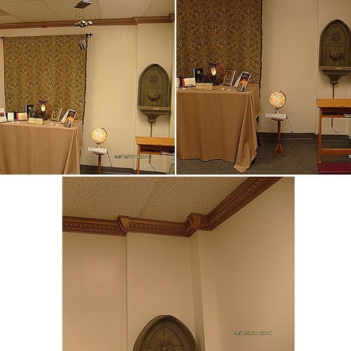 Room converted into an Interfaith Chapel and meditation Room in St. Johns University