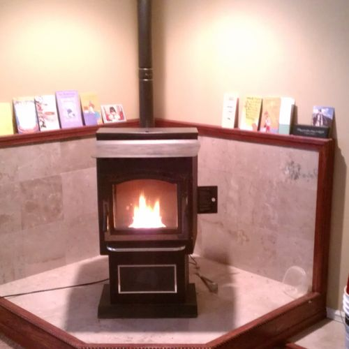 Pellet stove installation and repairs