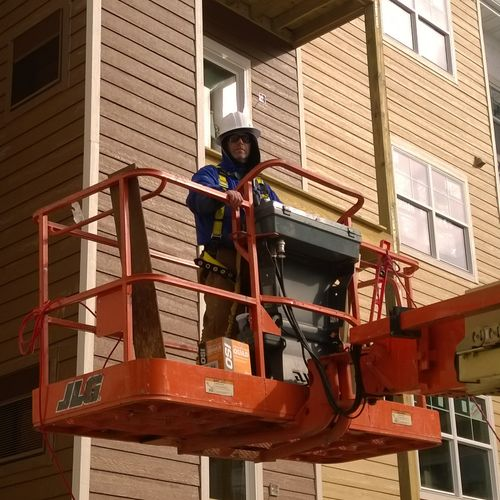 JLG Aerial Lift - Safety First