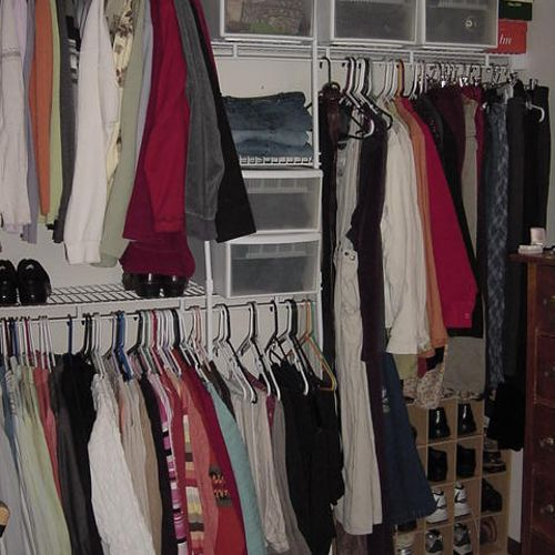 Closet - After 3 hours