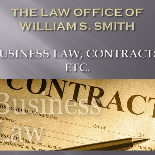 Business Law, Contracts, Etc.