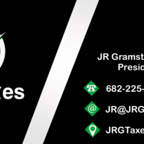 JRG Taxes - Taking the Fear out of Taxes