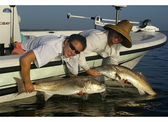 South Louisiana Redfishing