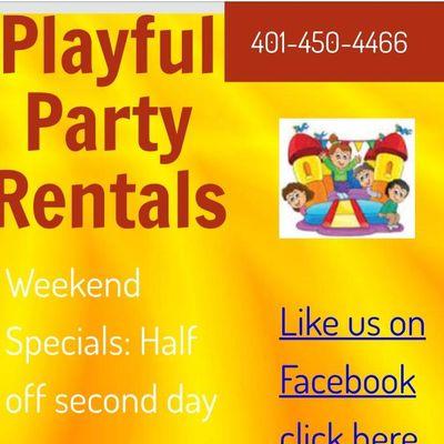 Avatar for PLAYFUL PARTY RENTALS Cranston, RI Thumbtack