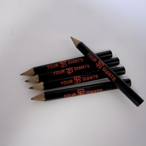 Score Keeping Pencils for the SF Giants!