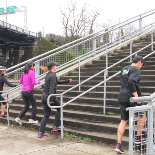 Steps are a great way to train the body for tone...